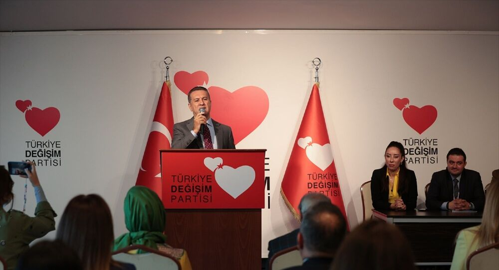 Türkiye Değişim Partisi (TDP) Genel Başkanı MustafaSarıgül