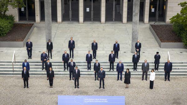 : Libya konulu İkinci Berlin Konferansı - Sputnik Türkiye