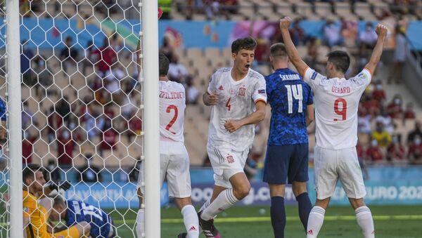 EURO 2020 E Grubu'nda İsveç ve İspanya son 16'ya kaldı - Sputnik Türkiye