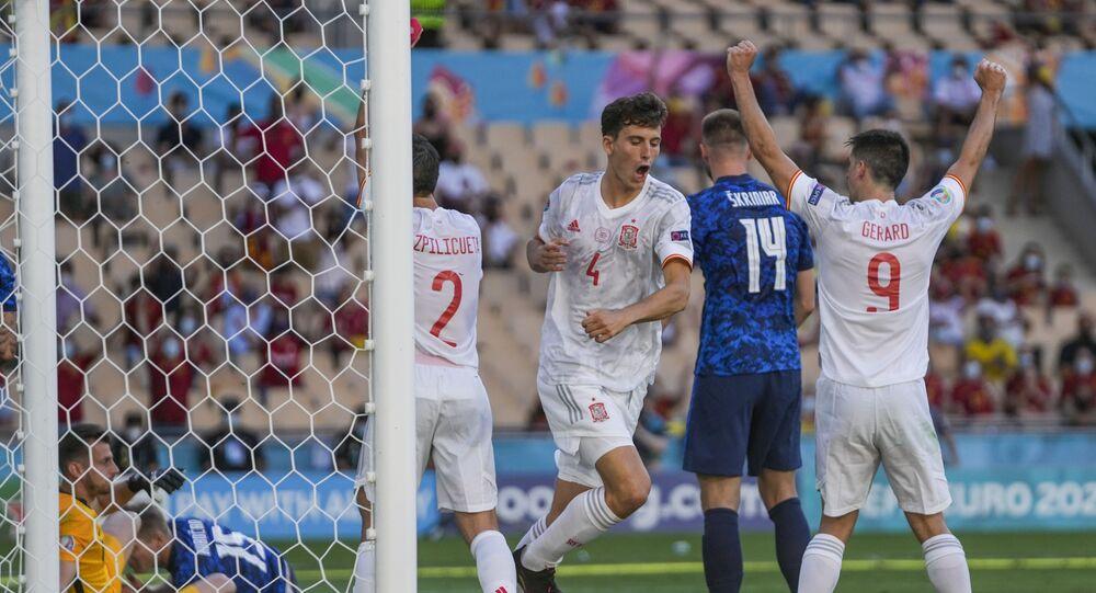 EURO 2020 E Grubu'nda İsveç ve İspanya son 16'ya kaldı