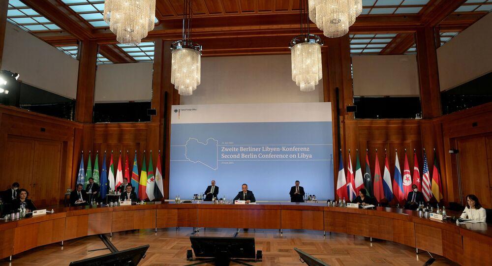 Almanya'da Libya konferansı