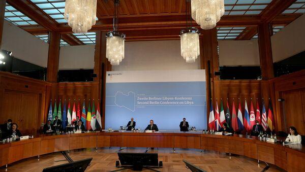 Almanya'da Libya konferansı - Sputnik Türkiye
