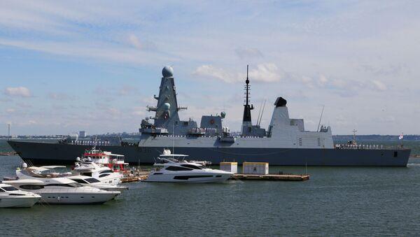 İngiliz HMS Defender gemisi - Sputnik Türkiye