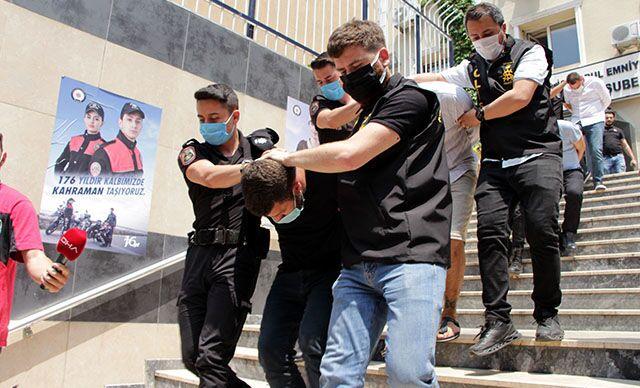 Sibel Koçan'ı öldürüp, 3.3 milyon lirasını gasp eden şüphelilerden 7'si daha adliyeye sevk edildi