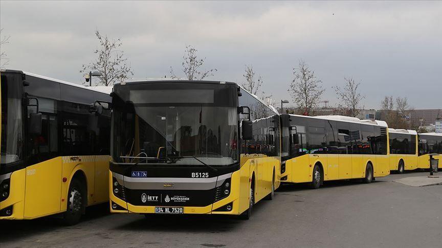 İstanbul toplu ulaşım otobüs