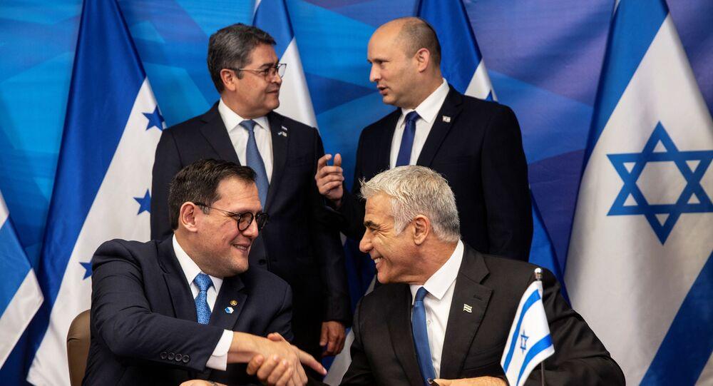 Honduras - İsrail