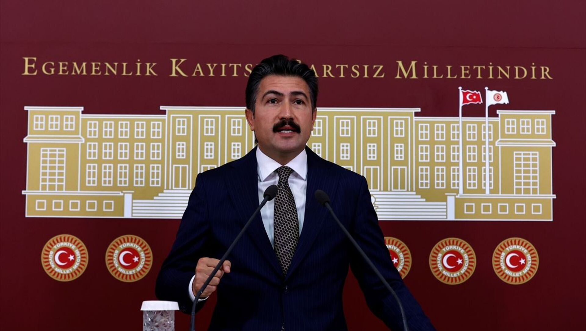 AK Parti Grup Başkanvekili Cahit Özkan - Sputnik Türkiye, 1920, 24.06.2021