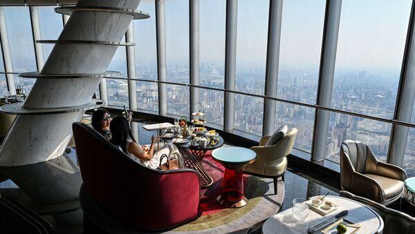Şangay'da dünyanın en yüksek oteli açıldı - Sputnik Türkiye