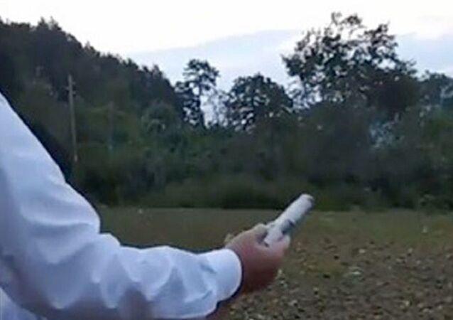 Çocuğa silah verip havaya ateş açtıran kişi muhtar çıktı