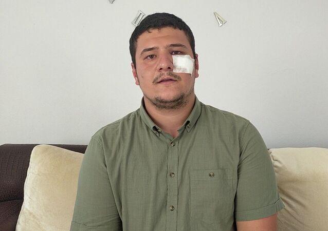 İhlas Haber Ajansı (İHA) muhabiri Mustafa Uslu