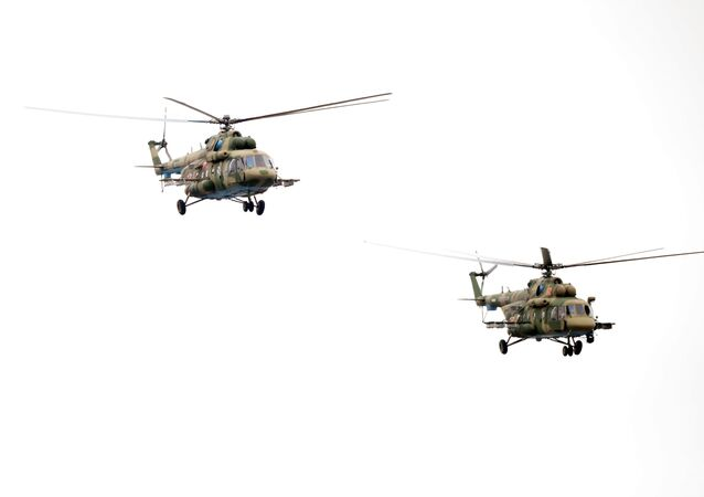 Mi-8 tipi helikopteri