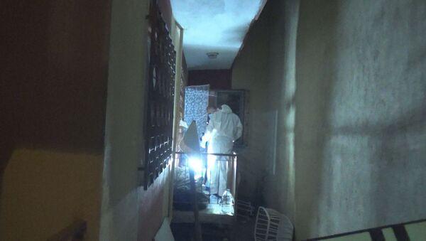 Öldürdüğü annesini çuvala koyup balkonda saklamış - Sputnik Türkiye