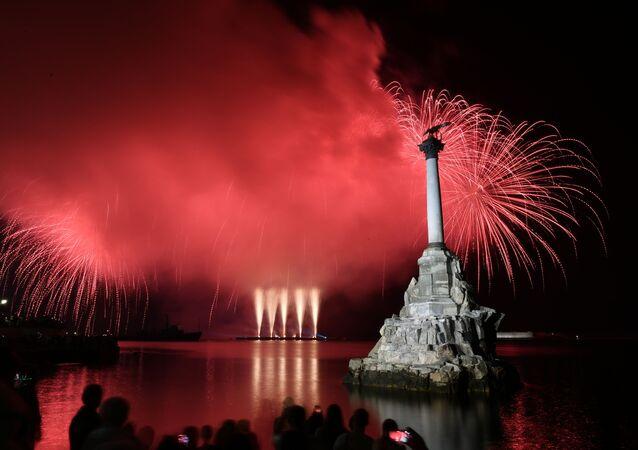 Kırım'da Rusya Günü kutlamaları