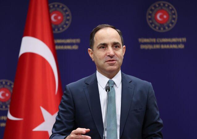 Dışişleri Bakanlığı Sözcüsü Büyükelçi Sayın Tanju Bilgiç