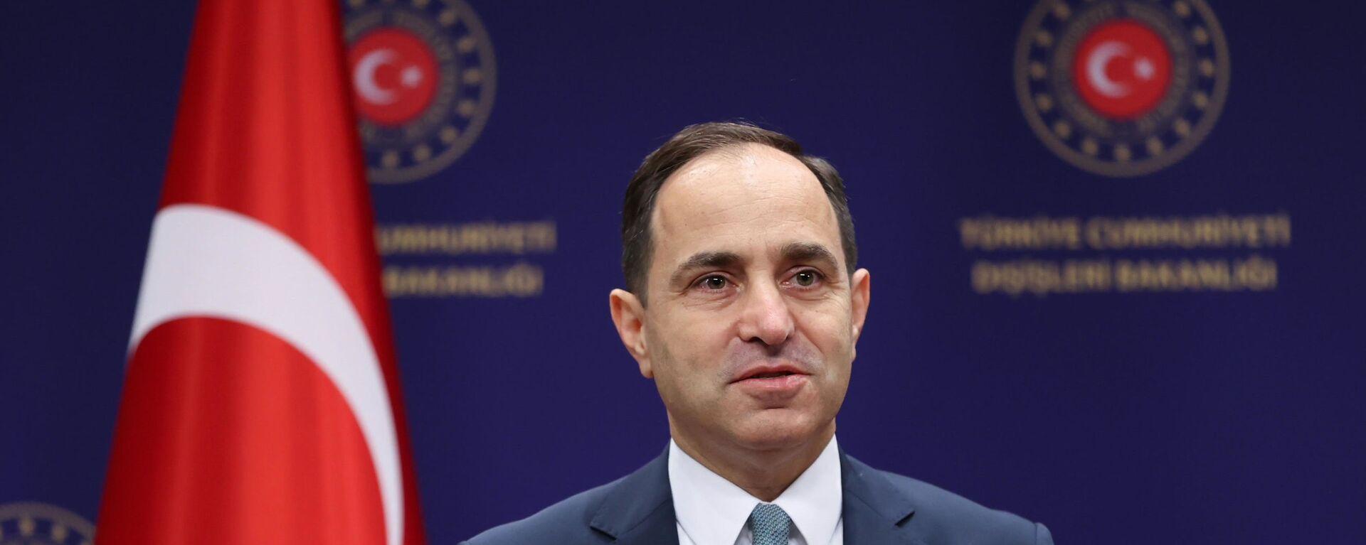 Dışişleri Bakanlığı Sözcüsü Büyükelçi Sayın Tanju Bilgiç - Sputnik Türkiye, 1920, 04.08.2021