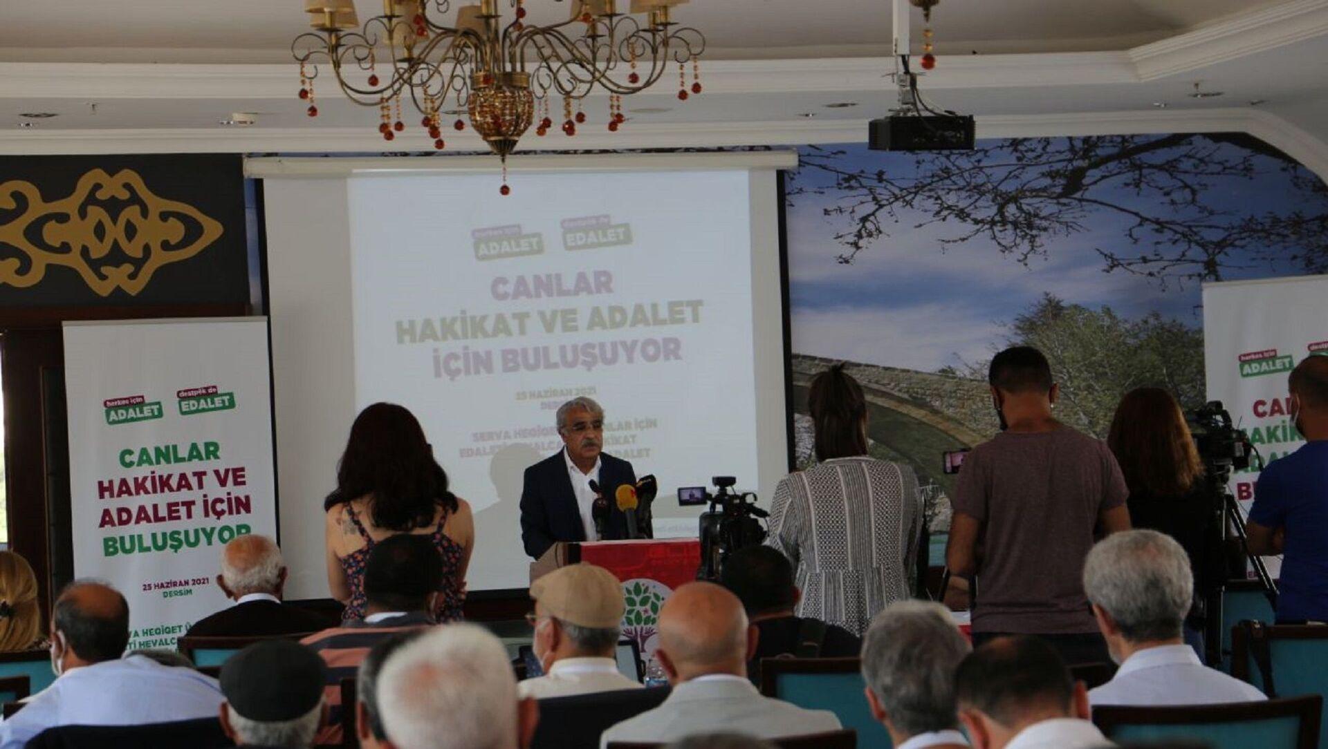 HDP Eş Genel Başkanı Mithat Sancar - Sputnik Türkiye, 1920, 25.06.2021