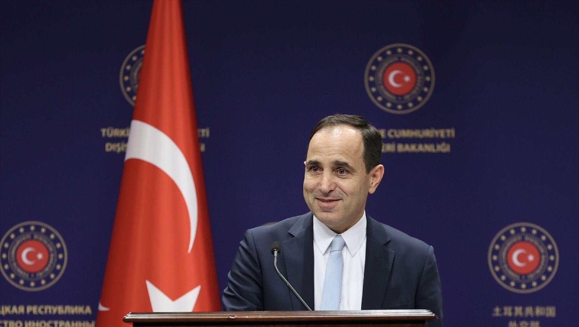 Dışişleri Bakanlığı Sözcüsü Tanju Bilgiç - Sputnik Türkiye, 1920, 27.07.2021