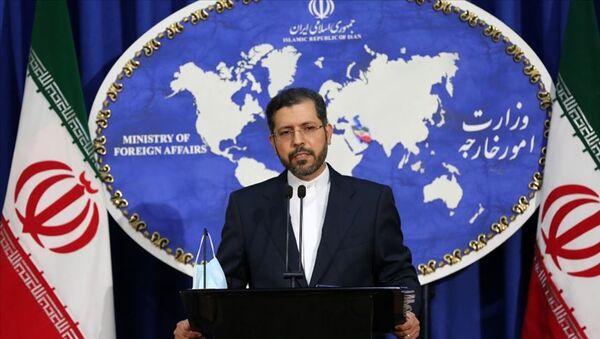 İran Dışişleri Bakanlığı Sözcüsü Said Hatipzade - Sputnik Türkiye