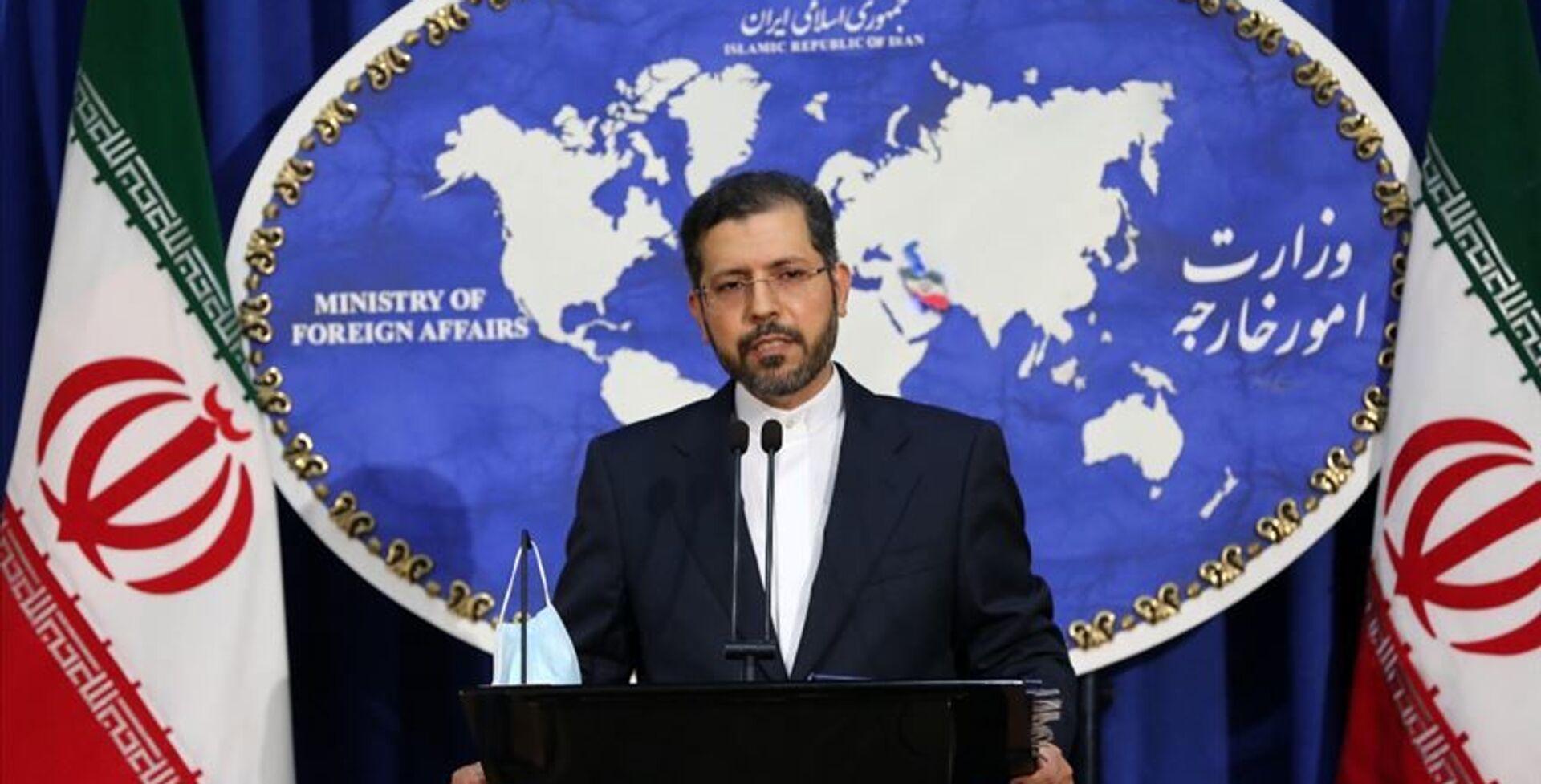 İran Dışişleri Bakanlığı Sözcüsü Said Hatipzade - Sputnik Türkiye, 1920, 25.06.2021