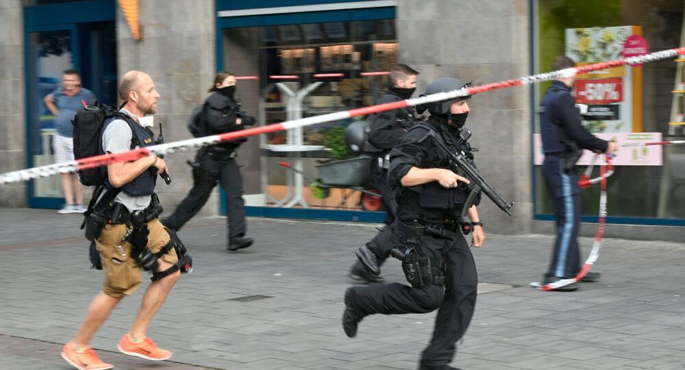 Almanya polis protesto