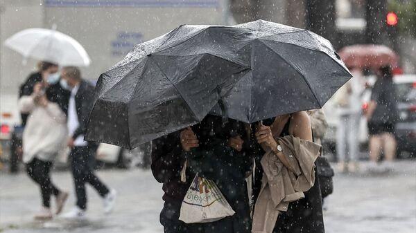 Yağmur- Sağanak yağış - Sputnik Türkiye