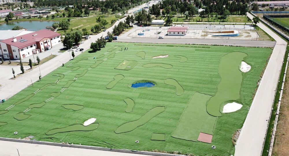 Erzurum  Olimpiyat Millet Bahçesi Futgolf sahası