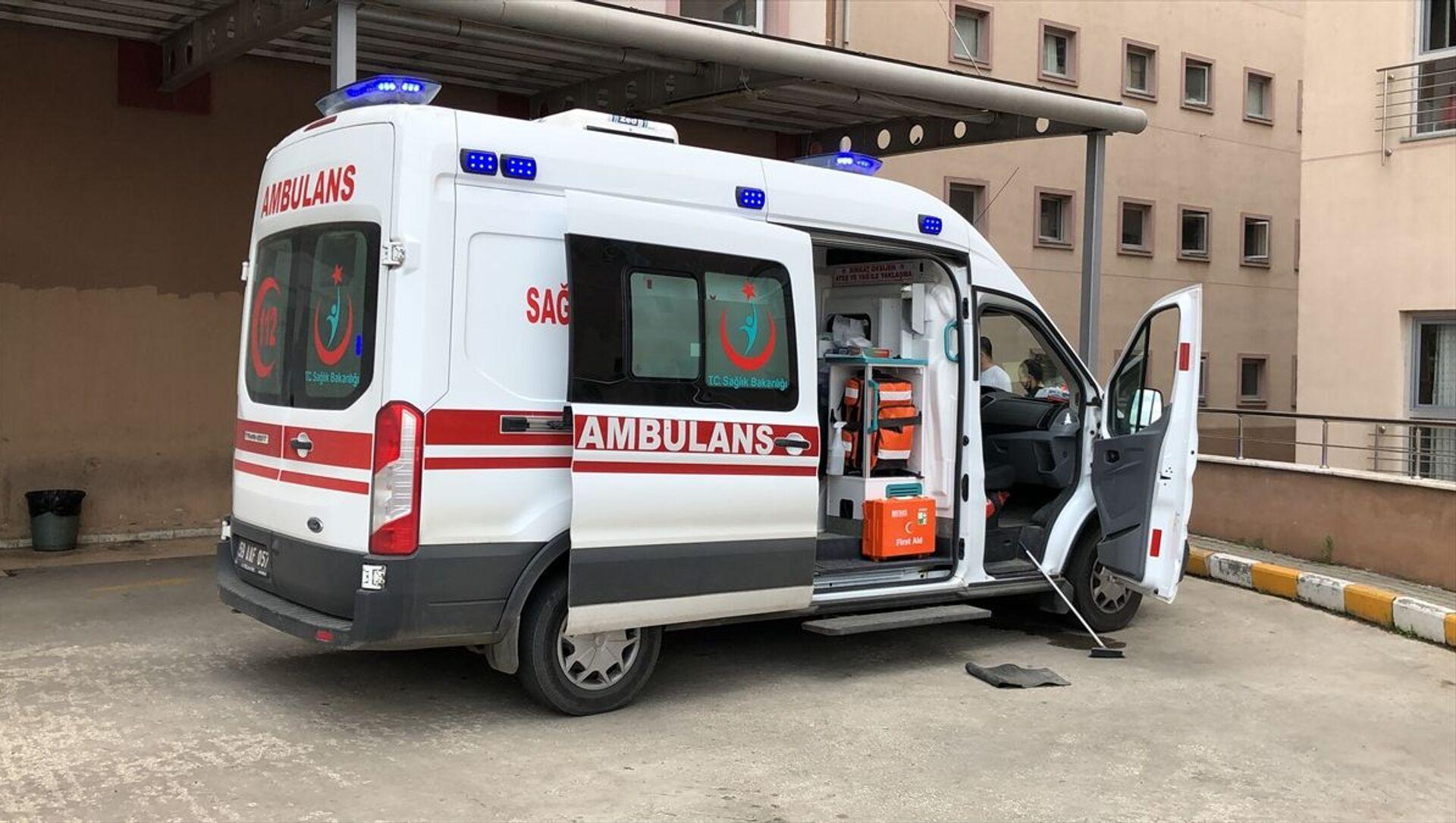 Ambulans - Sputnik Türkiye, 1920, 05.07.2021