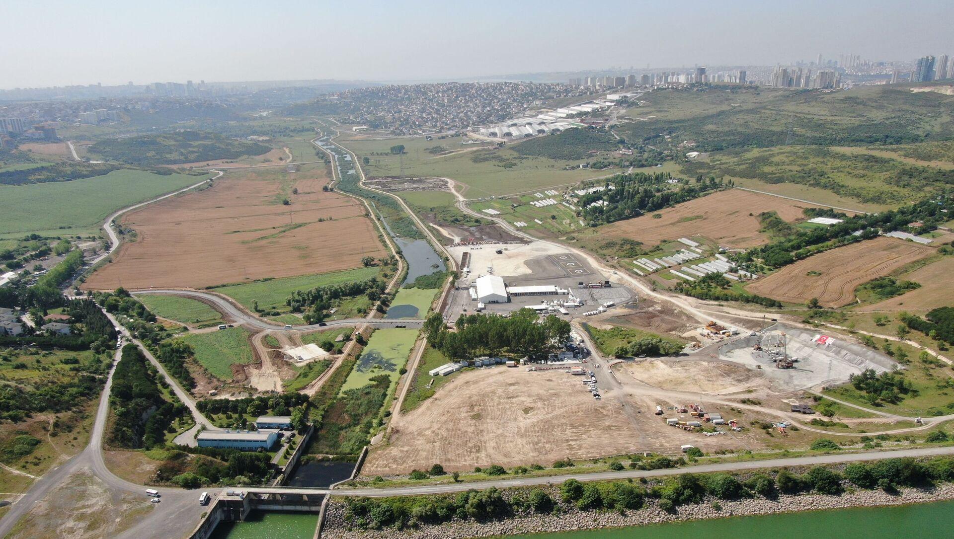 Kanal İstanbul alanı - Sputnik Türkiye, 1920, 29.07.2021