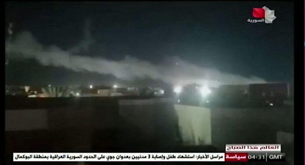 Pentagon'dan Irak- Suriye sınırına saldırı
