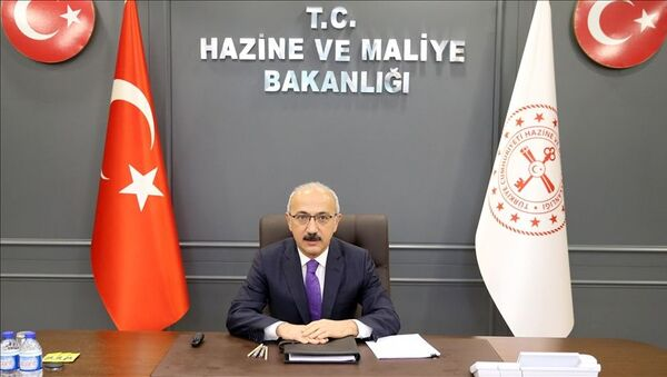 Hazine ve Maliye Bakanı Lütfi Elvan - Sputnik Türkiye