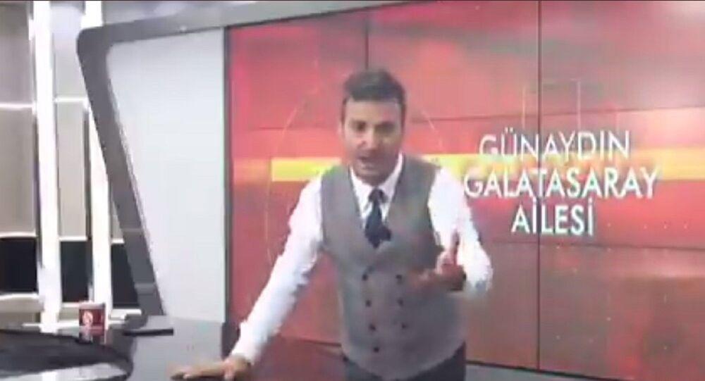 GS TV sunucusu Serbay Şenkal