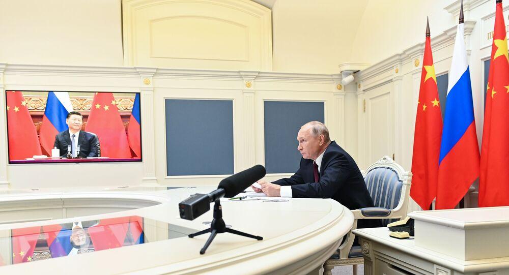 Çin Devlet Başkanı Şi Cinping - Rusya Devlet Başkanı Vladimir Putin