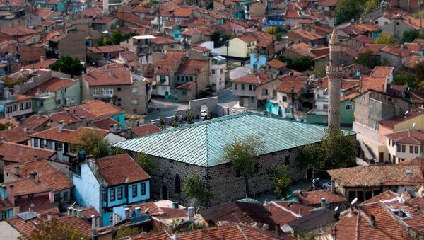Afyonkarahisar'ın en büyük ibadet mekanı tarihiUlu Camii - Sputnik Türkiye