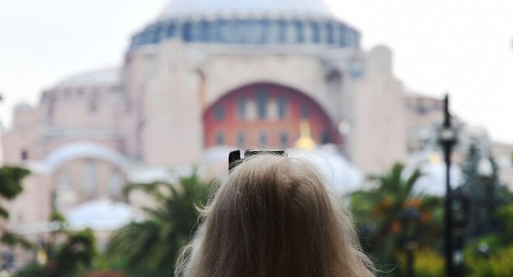 Turist, Rus turist, Ayasofya
