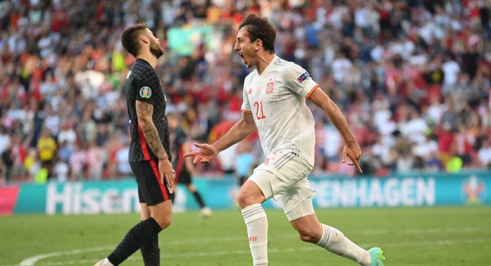 İspanya, Hırvatistan'ı 5 golle geçerek adını çeyrek finale yazdırdı