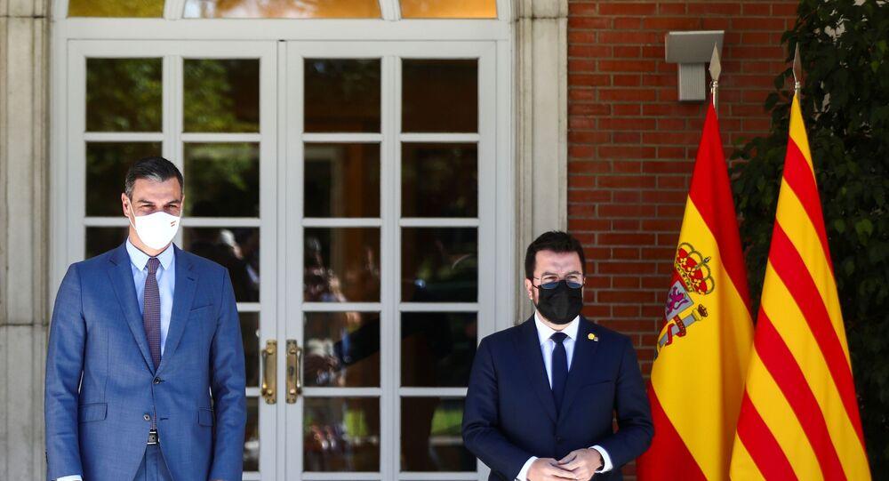İspanya Başbakanı Sanchez, Katalanlarla görüşmeleri yeniden başlattı