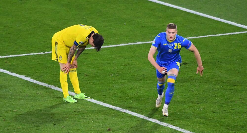 EURO 2020'nin son çeyrek finalisti, İsveç'i 2-1 mağlup eden Ukrayna oldu