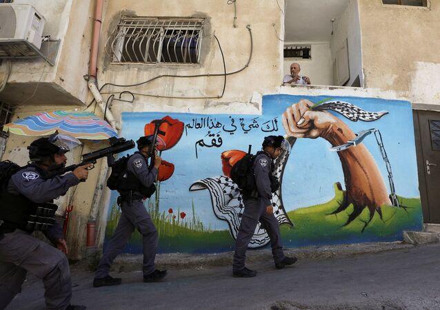 İsrail polisi - Doğu Kudüs
