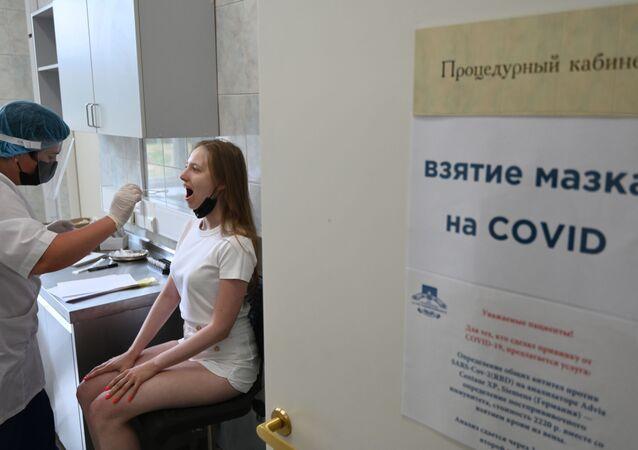 Rusya - Koronavirüs - koronavirüs testi