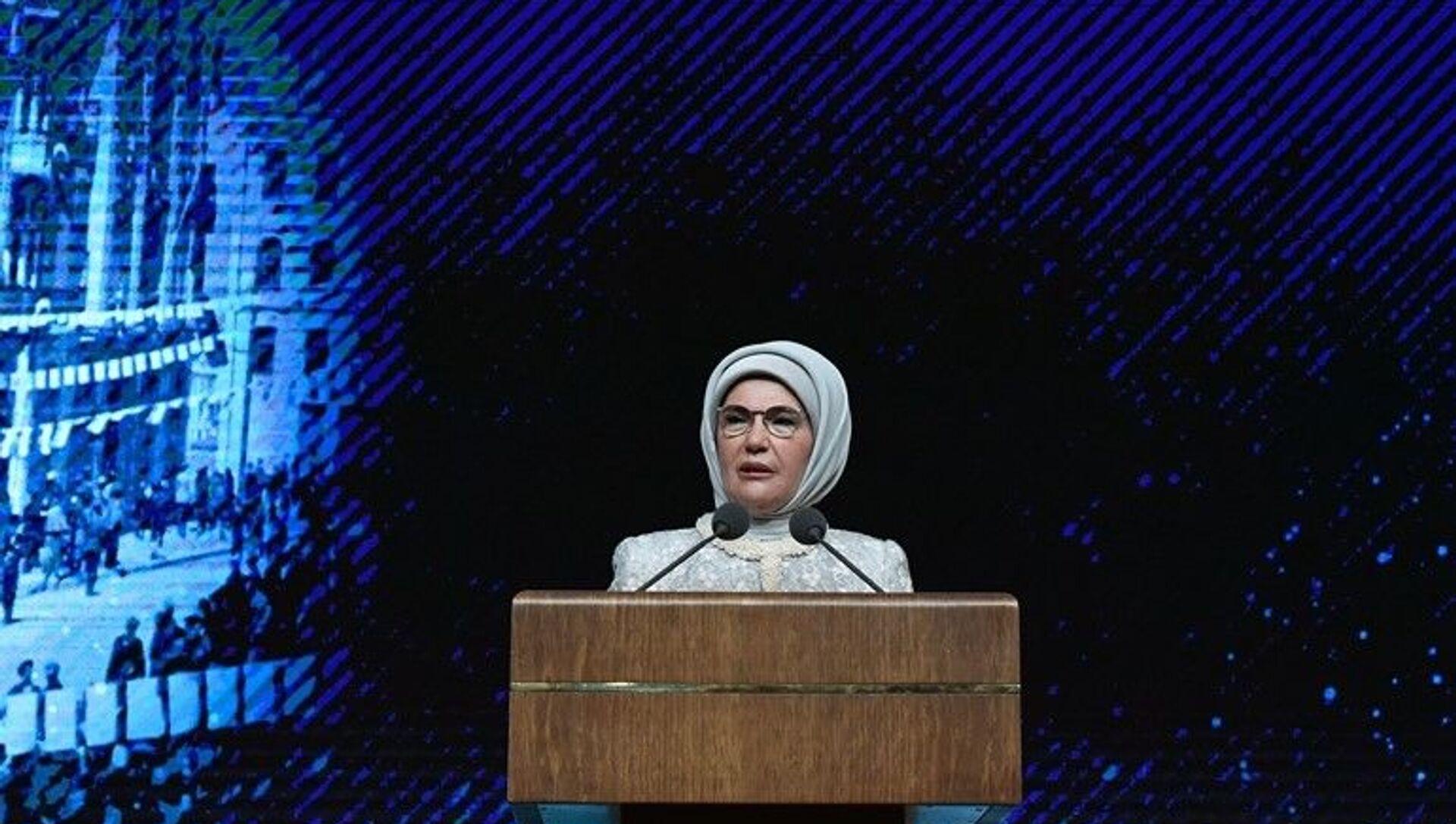 Emine Erdoğan - Sputnik Türkiye, 1920, 28.07.2021