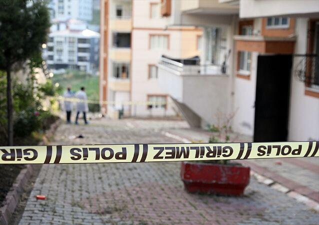 Samsun'da 5. kattan düşen üniversite öğrencisi öldü