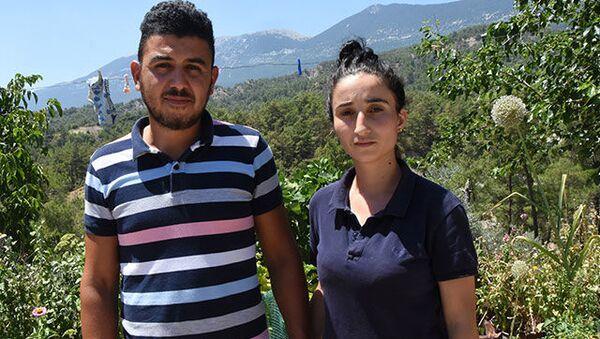 Merve Akman ve Rahmi Akman - Sputnik Türkiye
