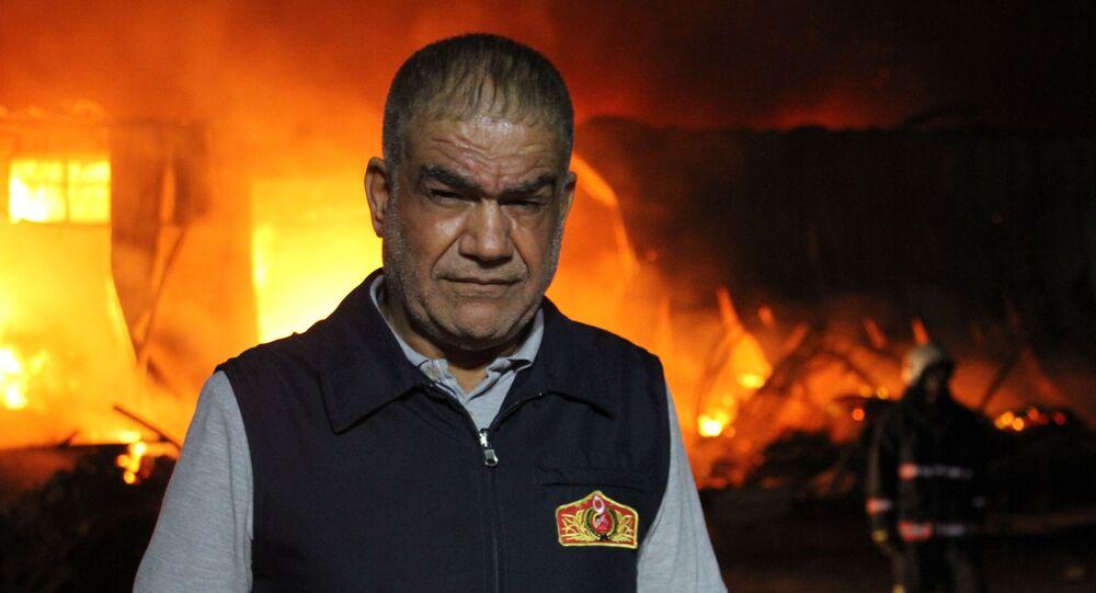 Elazığ Belediyesi İtfaiye Müdürü İbrahim Halil Başgün