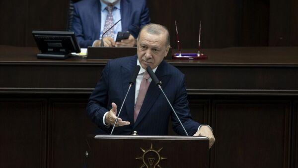 Recep Tayyip Erdoğan - AK Parti - Sputnik Türkiye