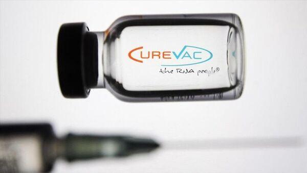 CureVac isimli Alman biyoteknoloji şirketinin koronavirüse karşı geliştirdiği aşı adayıCVnCoV - Sputnik Türkiye