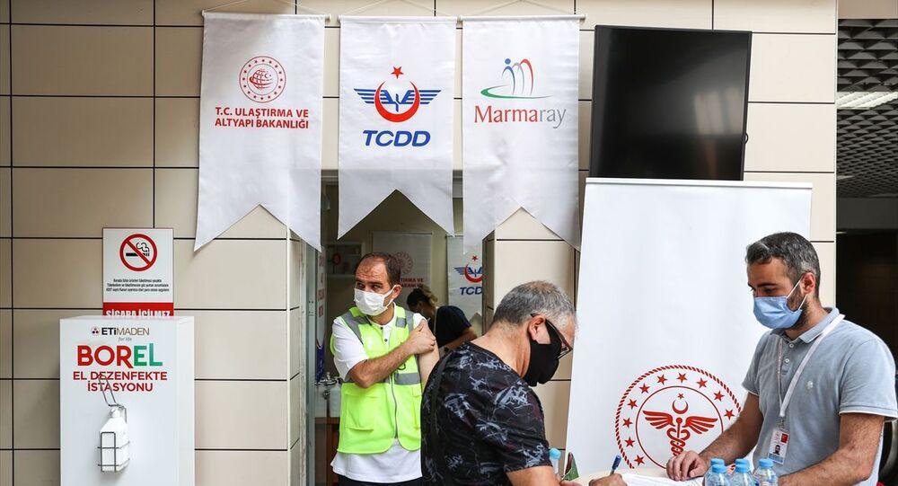 Koronavirüs aşısı / Marmaray