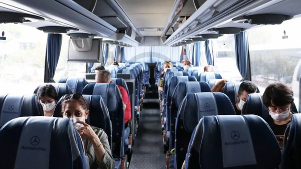 otobüs, otobüsle yolculuk, şehirlerarası otobüs - Sputnik Türkiye