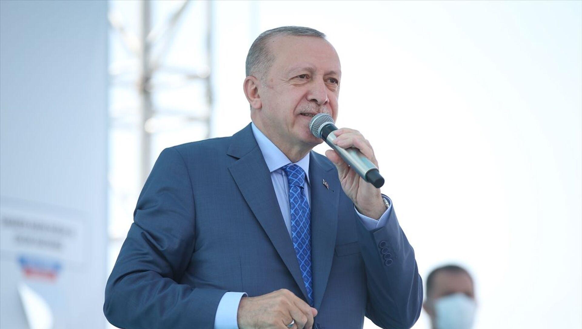 Recep Tayyip Erdoğan - Sputnik Türkiye, 1920, 30.07.2021