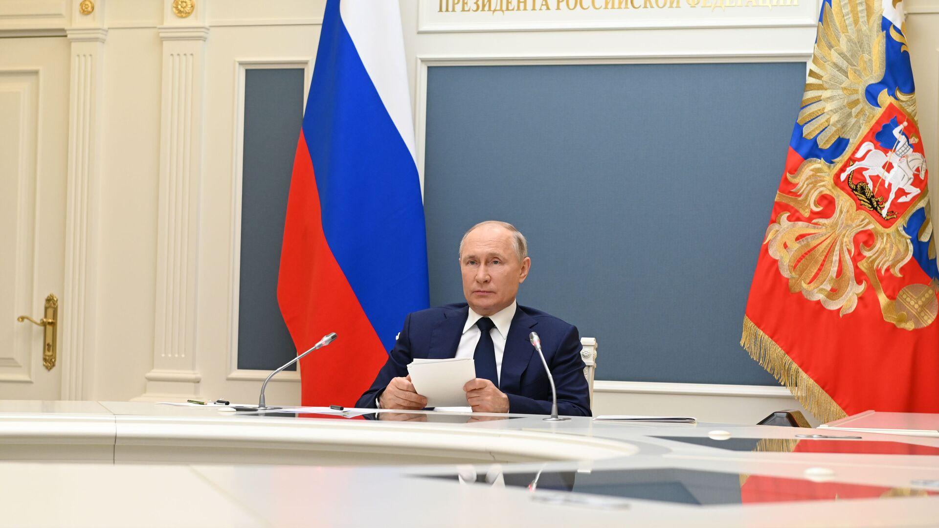 Vladimir Putin - Sputnik Türkiye, 1920, 15.09.2021