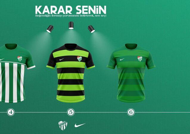 Bursaspor yeni formalar